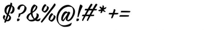 Rukola Regular Font OTHER CHARS