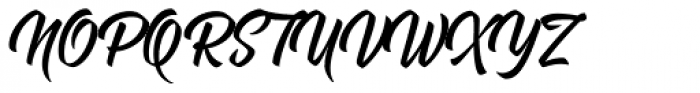 Rukola Regular Font UPPERCASE