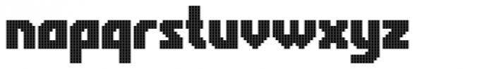 Rukyltronic Grid Font LOWERCASE