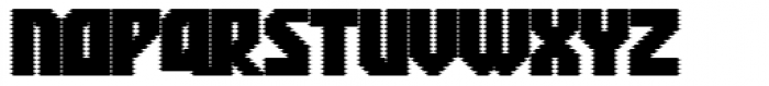 Rukyltronic Screen Font UPPERCASE