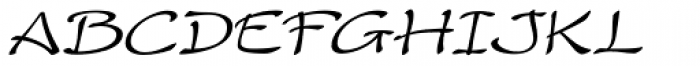 Rumba Italic Font UPPERCASE