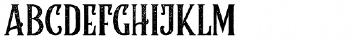 Rumble Brave Rough Font UPPERCASE