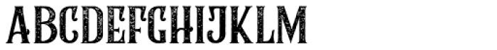 Rumble Brave Rough Font LOWERCASE