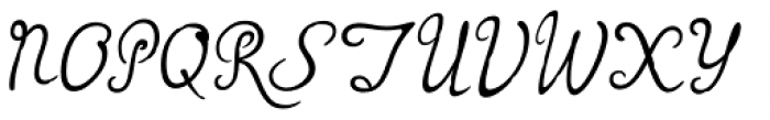 Rumi Font UPPERCASE