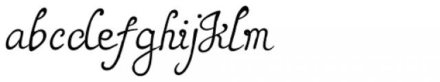 Rumi Font LOWERCASE