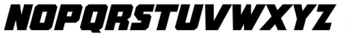 Rummy Italic Font UPPERCASE