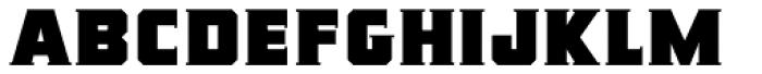 Rummy Slab Font UPPERCASE