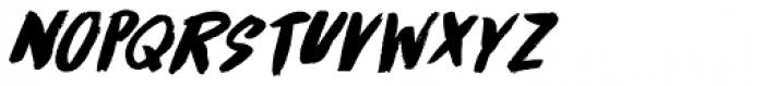 Runaround Kid Italic Font UPPERCASE