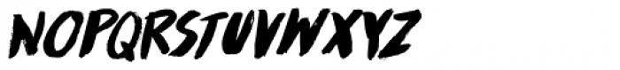 Runaround Kid Italic Font LOWERCASE