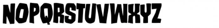 Runcible Font UPPERCASE