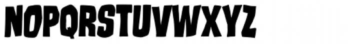 Runcible Font LOWERCASE