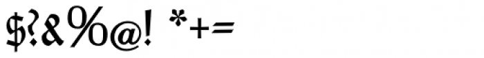 Rundgotisch No2 Pro Font OTHER CHARS