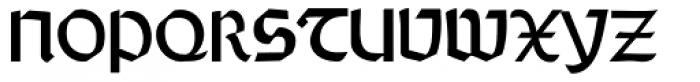 Rundgotisch No2 Pro Font UPPERCASE