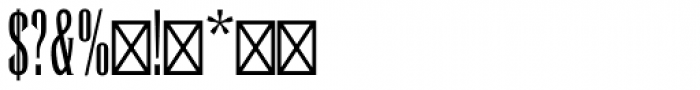 Runic Std Condensed Font OTHER CHARS