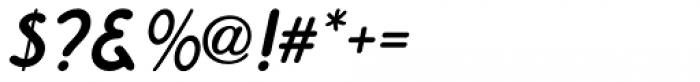 Running Board Oblique JNL Font OTHER CHARS
