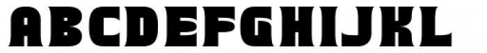 Runsten Font UPPERCASE