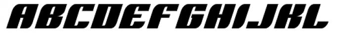 Runway Caps Font LOWERCASE