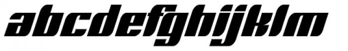 Runway Font LOWERCASE