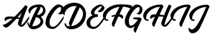 Rupture Regular Font UPPERCASE