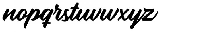 Rupture Regular Font LOWERCASE