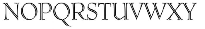 Ruse Monogram (250 Impressions) Font UPPERCASE