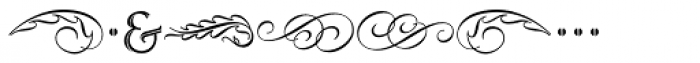 Ruse Monogram (25000 Impressions) Font OTHER CHARS