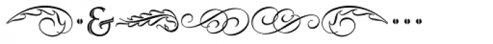 Ruse Monogram Inline (1000 Impressions) Font OTHER CHARS
