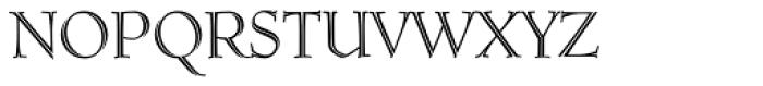 Ruse Monogram Inline (250 Impressions) Font LOWERCASE