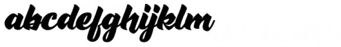 Rushing Nightshade Regular Font LOWERCASE