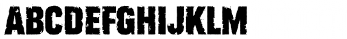 Rust Bucket Font UPPERCASE