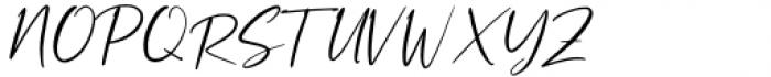Rustgia Regular Font UPPERCASE