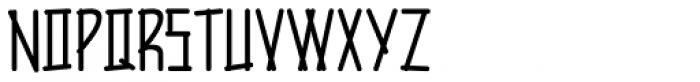 Rustic Inn JNL Font LOWERCASE