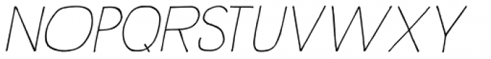 Rustick Italic Font UPPERCASE
