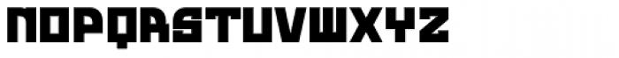 Rusty Bold Font UPPERCASE