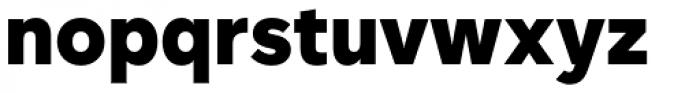 Rutan Black Font LOWERCASE