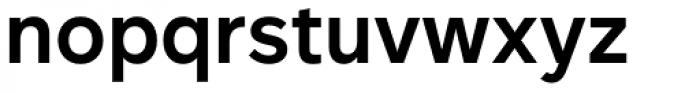 Rutan Demi Bold Font LOWERCASE