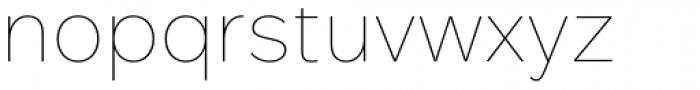 Rutan Thin Font LOWERCASE