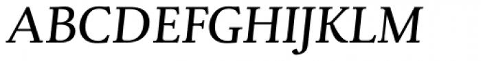Ruth Pro Italic Font UPPERCASE