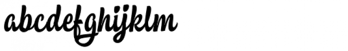 Ruth Script Font LOWERCASE