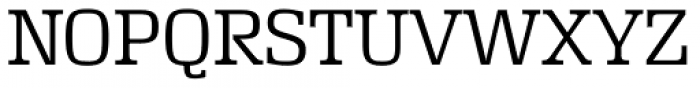 Rutherford Extra Light Font UPPERCASE