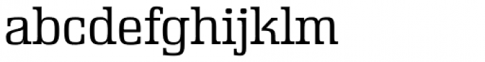 Rutherford Extra Light Font LOWERCASE