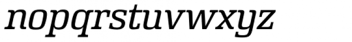 Rutherford Light Italic Font LOWERCASE
