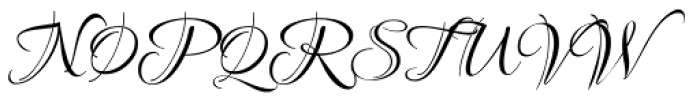 Ruthie Font UPPERCASE