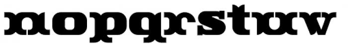 Rutin Tutin NF Font LOWERCASE