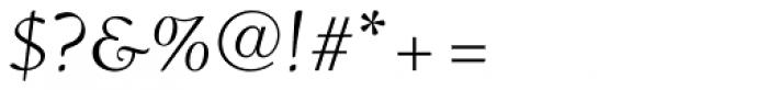 Ruzicka Freehand LT Std Roman Font OTHER CHARS