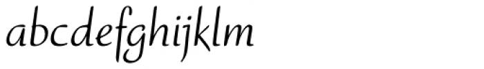 Ruzicka Freehand LT Std Roman Font LOWERCASE