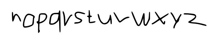 RVn Font of Doom 1 Regular Font LOWERCASE