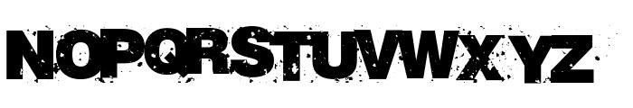 RvD_BETON13 Font UPPERCASE