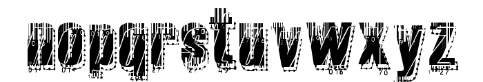 RvD_MICROCODE Font LOWERCASE