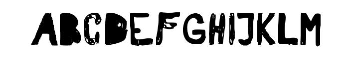 RvD_PATTERSON Font UPPERCASE